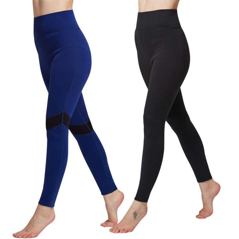 SBART 2MM Neoprene Women Hot Shapers Pant Slimming Surf Wetsuit Leggings  for Spearfishing UV Fitness Warm Trousers-in Wetsuit from Sports    Entertainment on ... 654472856