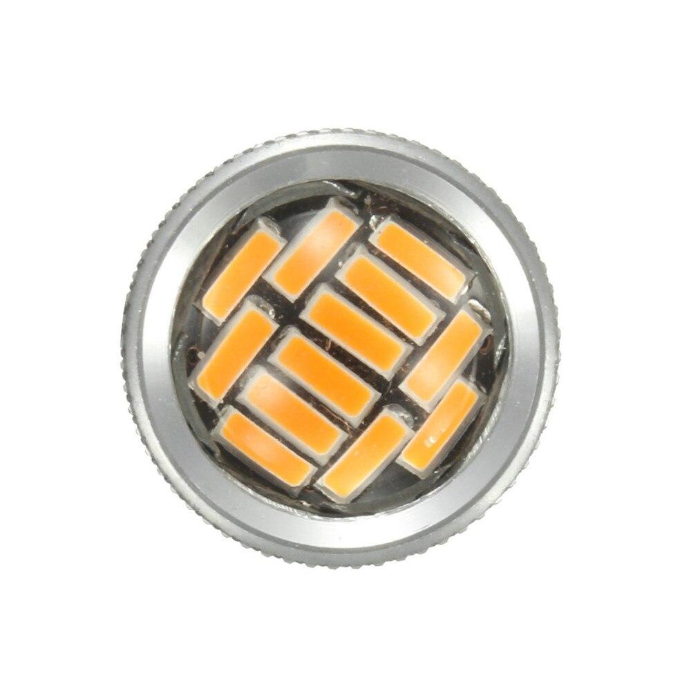 2//4x 3157 T25 P27//7W 4014 92 LED Rear Brake Stop Daytime Running Light Bulb DRL