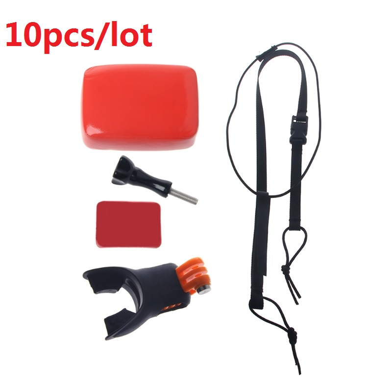 pcs lot Surfing Shoot Surf Dummy Bite Mouth Grill Mount For GoPro