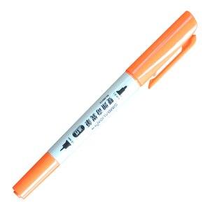 Image 4 - 12 قطعة SIMBALION 12 ألوان ثنائي يميل قلم تحديد النفط القائمة قلم تحديد دائم القرطاسية مكتب المدرسة اللوحة إمدادات جديدة