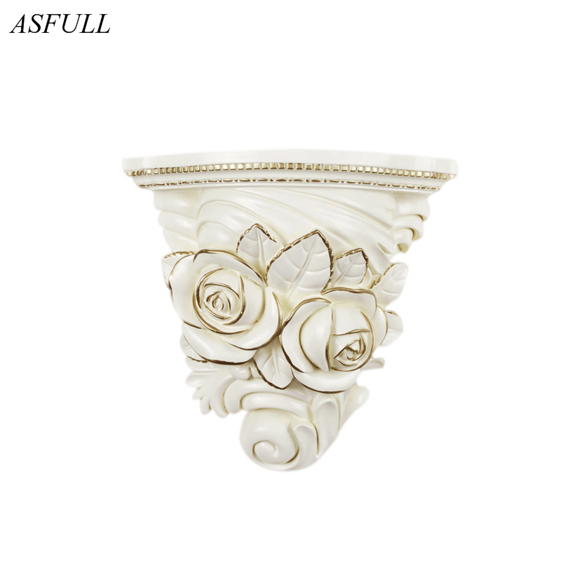 ASFULL creative wall decorated flower pots resin hanging on wall flower living room home decoration accessories