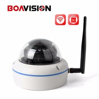 Plug And Play 1 0MP 2MP Wifi Dome IP Camera Outdoor HD 720P 1080P 3 6mm