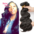 28 30 32 34 36 38 40 inches Wavy Peruvian Virgin Hair Halo Lady 7A Peruvian Body Wave Human Hair Extensions 3Bundles Lot 100g/pc