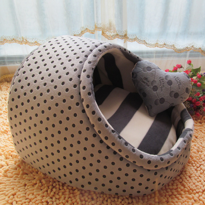 2016 New Cute Slipper Design Pet Dog Princess Bed Nest Washable Small Dogs Warm House Kennel 6 Colors Free shipping