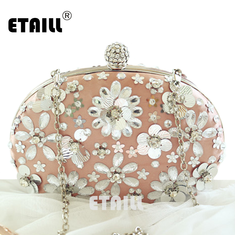 ETAILL 2017 Petals Bag Rhinestone Diamond-Studded Evening Bag Chain Day Clutch Messenger Bag Bridal Bag Crystal Flower Banquet danly the railroad in american art – representations of technological change