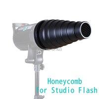Studio Flash Snoot Honeycomb For Bowens Mount Flash Monolight Strobe GY Ect