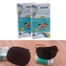 6 יח\קופסא ילד חסימה רפואי עצלנית תיקון מצחייה עבור עין עצלה ילדים ילדי ילד Gril סיטונאי S/L גודל
