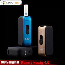 Kamry 4.0 Tobacco Cartridge Mod Kecig 4.0 e Cigarette Kamry 650mah Battery for heating Tobacco Cartridge VS KeCig 2.0 Plus(China)