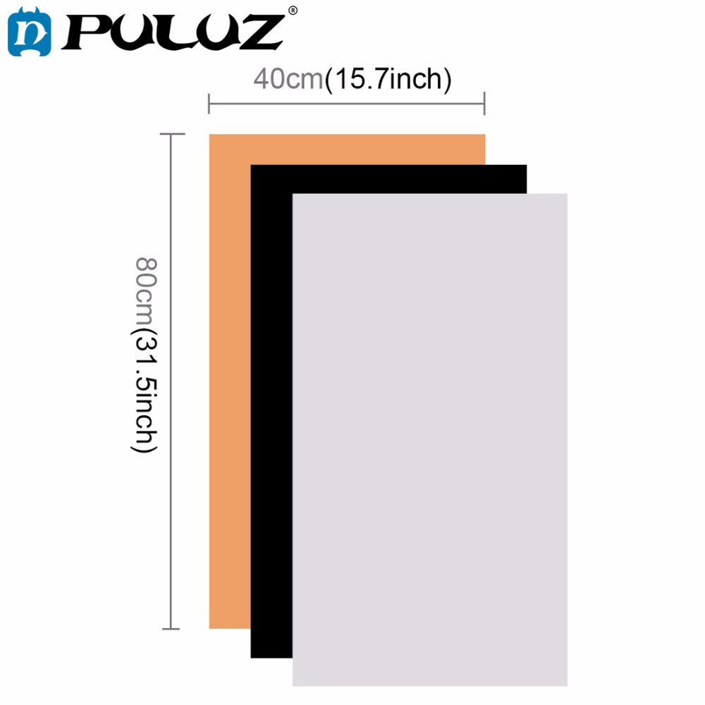 PULUZ Photography background Screen 31.5*15.7''Backdrop Background PVC Paper Kits for Photo Lighting Studio Tent Box lightbox fabric birthday party backdrop balloon and paper craft photography backdrop for photo studio photography background s 2132 c