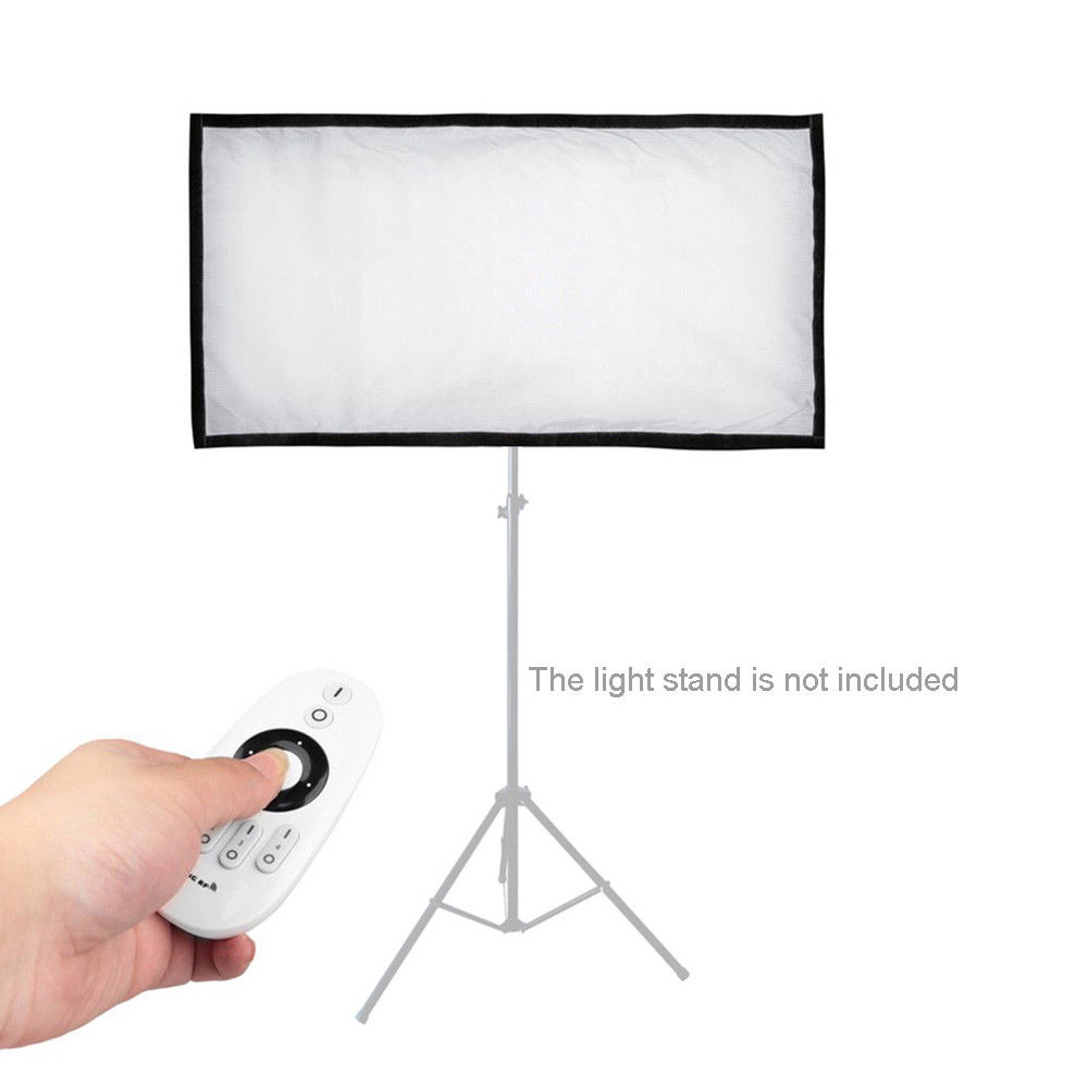 FL 3060 LED Light 5500K CRI90+ 45W Max.8000LM Flexible Cloth Roll up for 5DII 5D3 5DIV 6DII 7DII 60D 70D 80D 750D 800D 7D Camera|Photographic Lighting| |  - title=