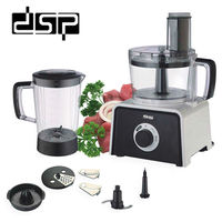 DSP 7 in 1 Grinder Multi Functional 220 240V 400W 1.5L Juicer Kitchen Tool Balck KJ3002A cooking machine
