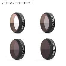 4 Pieces/Set PGYTECH ND Filters for DJI Mavic Air Filter ND4+ND8+ND16+ND32 Filter for DJI Mavic Air Gimbal Lens filter Accessory