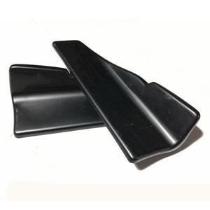Image 2 - 2 個車のリアリップサイドスカートバンパースポイラーリアリップ角度スプリッタディフューザー抗クラッシュ修正されたスプリッタディフューザーウイングレット