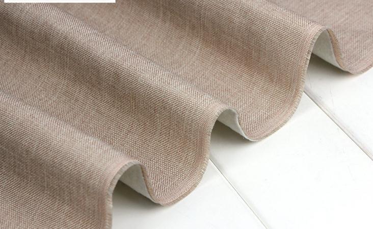 Divano Lino Grezzo : Ispessimento lino grezzo divano tessuto tinta unita di colore solido