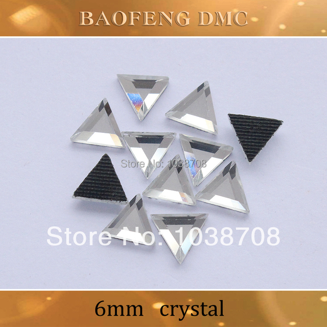 Crystal trim Rhinestones 130pcs lot 6mm Shiny Strass Crystals And Stones Hot  Fix Rhinestone For Clothes Free Shipping 9f0217c63ab6
