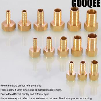 1pcsBrass armatura do węży 6 8 10 12 14 19mmBarb Tail 1 8 #8222 1 4 #8221 1 2 #8222 3 8 #8221 BSP gwint żeński złącze miedziane wspólne łącznik tanie i dobre opinie Tuleja Kobiet Hexagon Zmniejszenie Barb PCF Type Odlewania 4mm 6mm 8mm 10mm 12mm 14mm 16mm 19mm 1 8 BSP 1 4 BSP 3 8 BSP 1 2 BSP