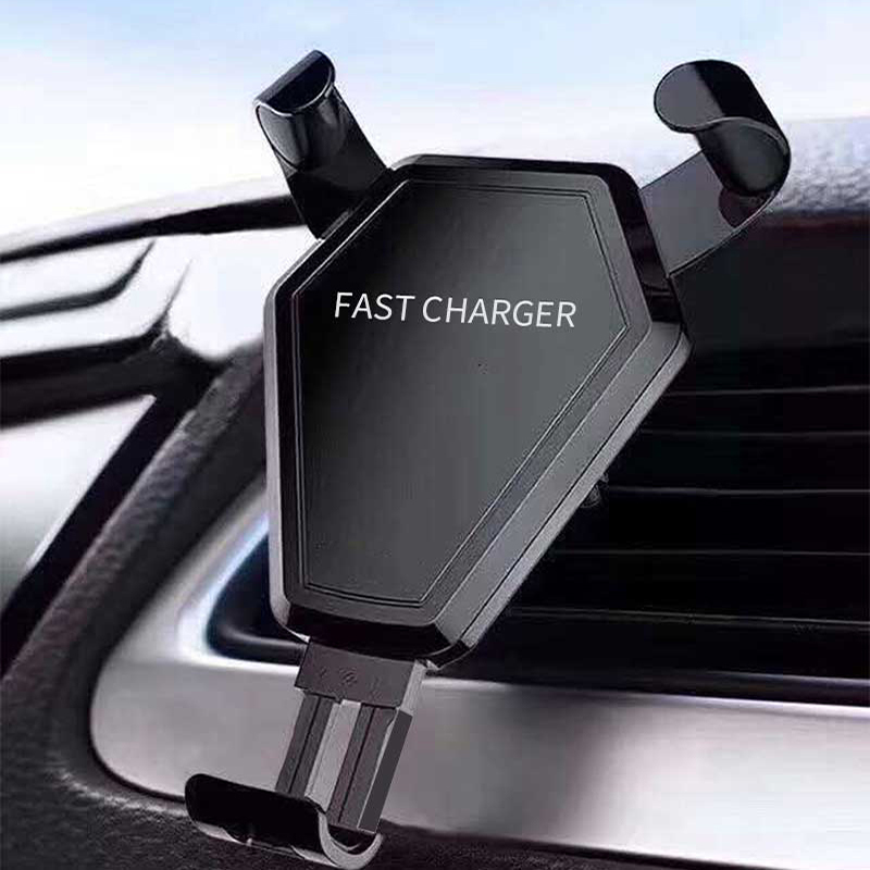 Car Mount Qi wireless charger For iphone X 8 Plus Air vent Car wireless charger 360 Rotation Dual use Charging for Samsung S9 S8