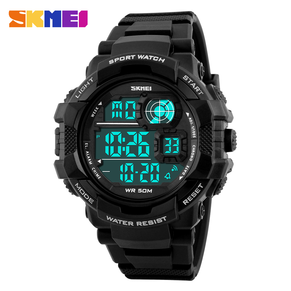 SKMEI Fashion Watches S Shock Waterproof Sports Military Watch LED Men Digital Sports Wristwatches fashion outdoor male clock
