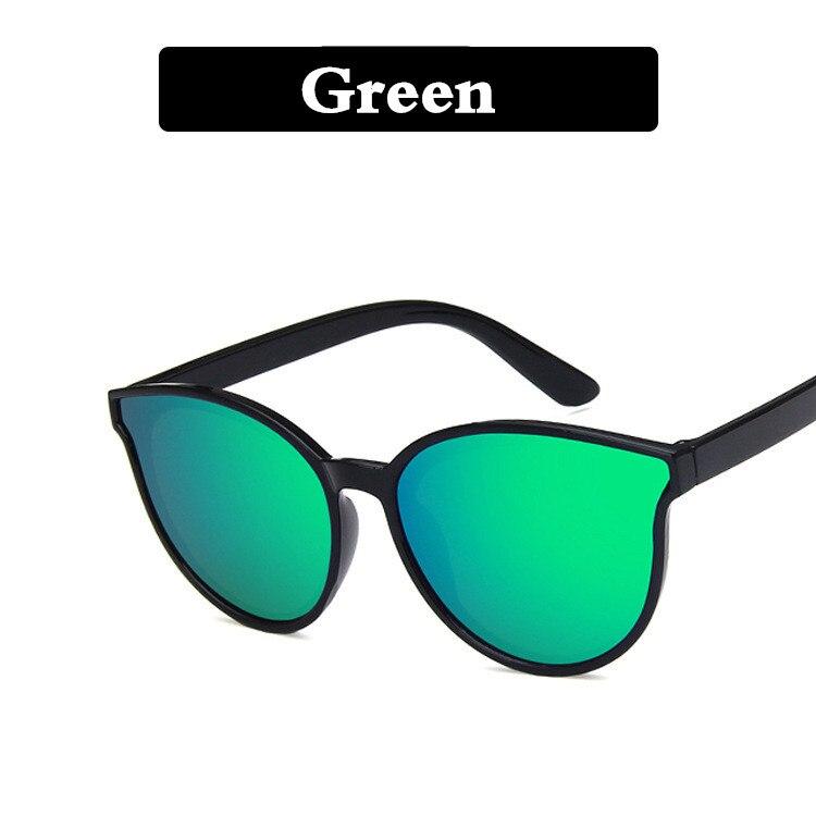 Новое поступление, детские солнцезащитные очки, Ретро стиль, спортивные, для улицы, круглая оправа, очки для мальчиков и девочек, солнцезащитные очки с защитой от уф400 лучей - Цвет линз: Зеленый