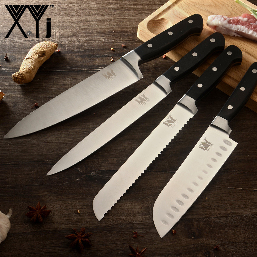XYj Best Gift 4 Piece Set Kitchen Knife 2018 New Arrival 8