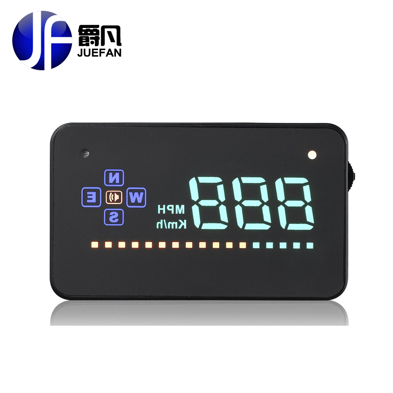 TOP SALE A2 HUD Car Head Up Display Car Detector with GPS Speed Projector on Windshield HUD Display free delivery universal 3 5 car hud a3 head up display with obd2 interface