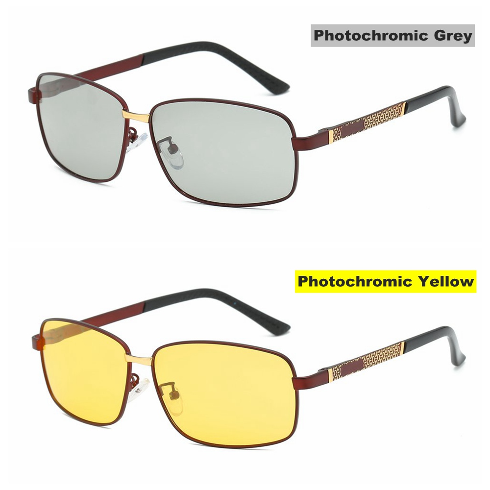 2019 Men Sunglases Polarized Photochromic Sun Glasses Pilot Driver Rectangle Sunglasses for Women Goggle