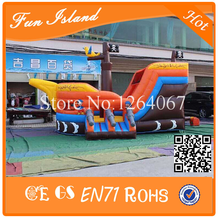 Commercial  Inflatable Bouncer House,Inflatable Pirate Ship,Jumping Castle For Kids Play,Inflatable Bouncer Combo irresistible
