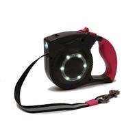 Pet Retractable Dog Leash LED Flexible Leash Puppy Cat Automatic Lead For Big Dog Reflective Dog