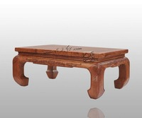 Living Room Rosewood Teapoy Chinese Antique Kang Table Solid Wooden Dining Small Tea Coffee End Desk