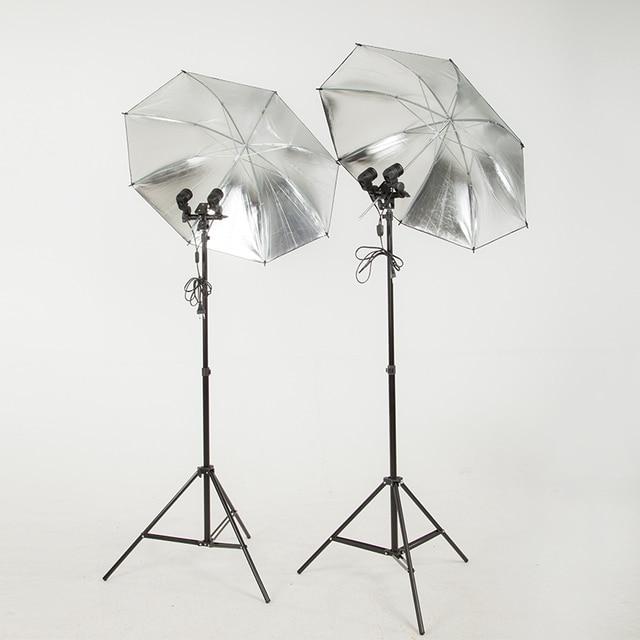 fotolampe godox doppel regenschirm reflektor fotografie lampe set mode portrait studio foto auszustatten fotolampen ebay
