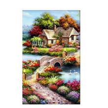 5D DIY diamond painting cabin oil full drill square round art embroidery rhinestone cross stitch mosaic ift