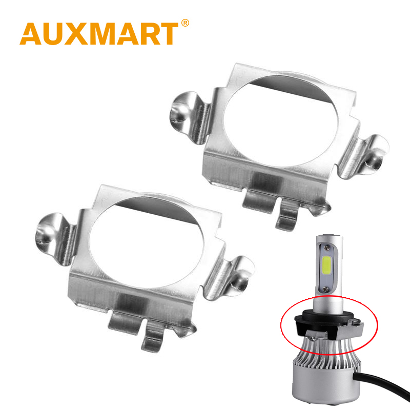 Auxmart H7 Adapter Base For Mercedes-benz B C Ml C Class Pentium B50 B70 Auto Led H7 Bulb Holder Socket High Quality And Low Overhead chery Riich G5 Ford