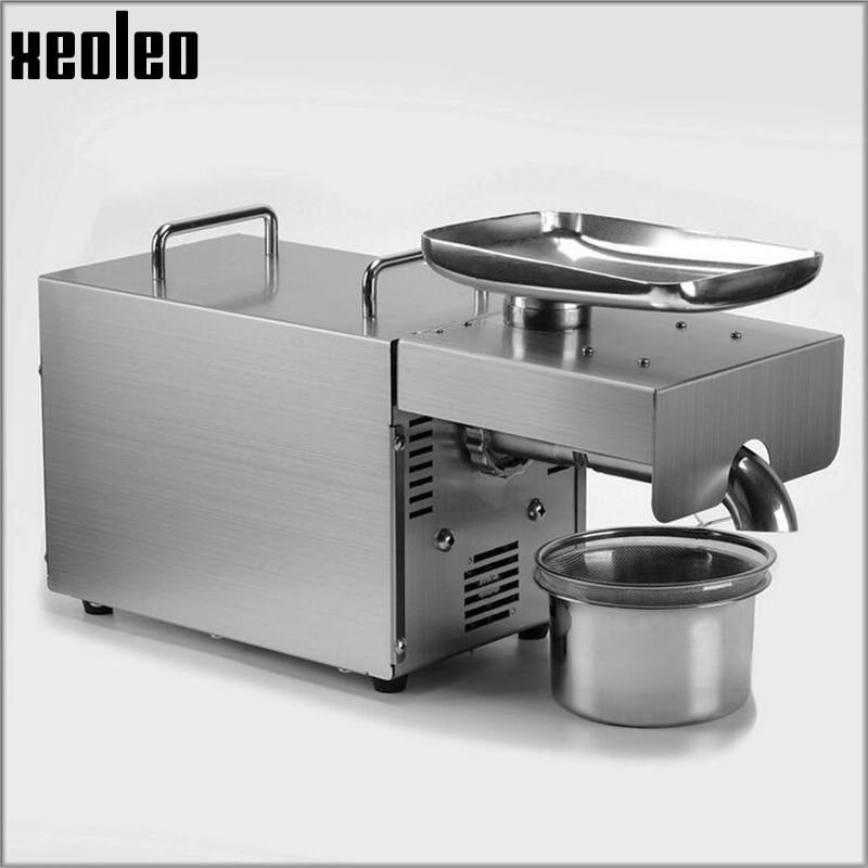 Xeoleo macchina della pressa di Olio pressa di Olio di Oliva Olio di macchina In acciaio inox A Freddo e Caldo 750 w adatto per almond/ di arachidi Per Uso Domestico
