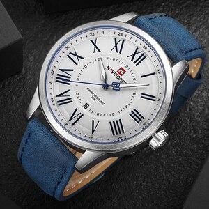 Image 2 - NAVIFORCE montre de sport, montre bracelet, à Quartz, pour hommes, marque de luxe, à la mode, horloge, nouvelle collection 2018