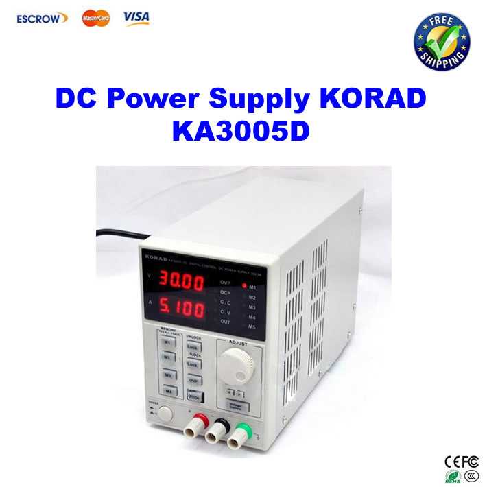 ФОТО KORAD KA3005D - Precision Variable Adjustable DC Power Supply 30V, 5A