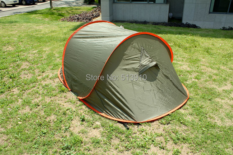2017 Spring One minute opening seconds ticking fast open c&ing tent tourism Double wire pop up c&ing tent-in Tents from Sports u0026 Entertainment on ... & 2017 Spring One minute opening seconds ticking fast open camping ...