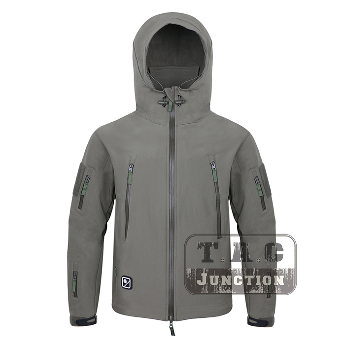 цена на Emerson New BREATHTEX Tactical Military Stealth Reloaded Soft Shell Jacket Hoody w/ Hood EmersonGear Men Outdoor Coat Jacket