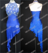 Sexy Latin dance dress,Waltz Tango Ballroom Dance Dress,Girls,Women Modern Dance,Perform Costume,dancewear LD-0037