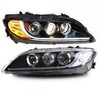 For MAZDA 6 LED Headlight Angel Eyes 2003 to 2013 year LF