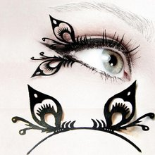 78b740b76d8 1 pair/pack Unique Style Sexy Slim Artistic Creative Open Work Butterfly  False Fake Eyelashes 3d Mink Lashes Eye Lash for Beauty