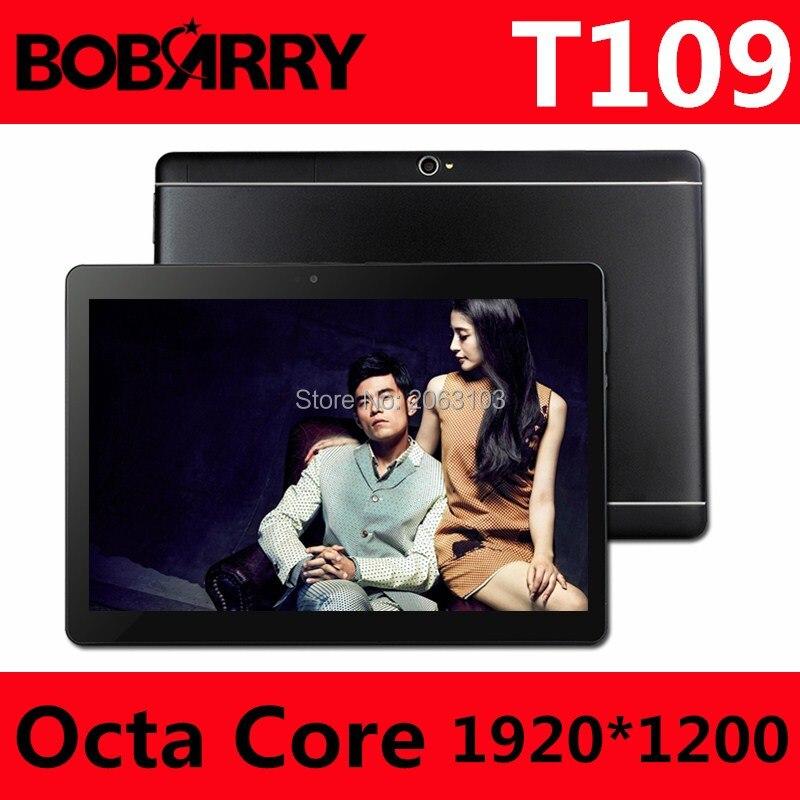 Hot New Comprimés Android 6.0 Octa base 64 GB ROM Double Caméra et double SIM Tablet PC Soutien OTG WIFI GPS 3G 4G LTE bluetooth téléphone