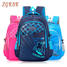 Fashion High Quality Nylon School Backpacks Bags For Boys Lightweight Backpack Bagpack Children's Back Pack Schoolbags