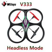 Original WLtoys V333 Headless Mode 2 4G 6 Axis RC Quadcopter drone WL V333 RTF