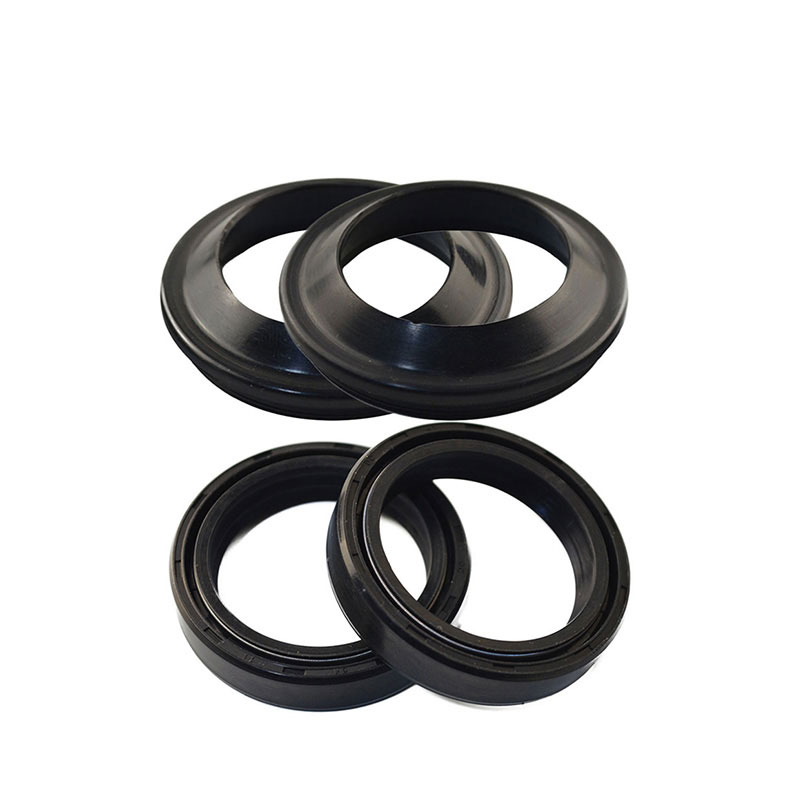 Motorcycle 45*57*11 Front Fork Oil Seal Dust Seal for Honda CBR 600 RR 900 GL1500 for <font><b>Suzuki</b></font> GSXR 600 <font><b>RM</b></font> 125 <font><b>250</b></font> image
