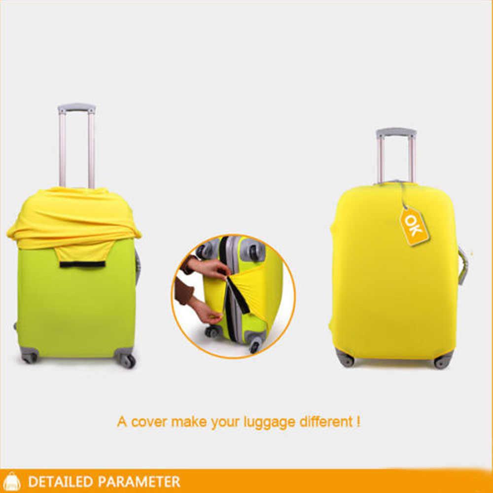 Elastische Travel Bagage Cover Waterdichte Afdrukken Wolf Paard Koffer Cover voor 18-28 inch Elastische Kofferbak Case Cover