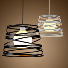 Nordic modern minimalist pendent light Cafe Western Restaurant living room dining room bar table American led ceiling lamp creative nordic simple table tennis racket led chandelier living room dining room bedroom restaurant bar cafe lamp free shipping