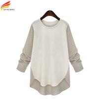 Shirt Blouse Plus Size 5XL Women Clothing 2018 Autumn Winter New Long Sleeve Loose Body Shirt