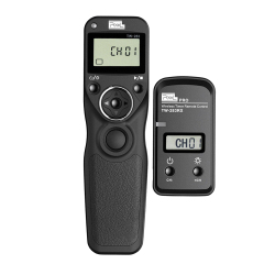 Pixel T9 Wireless Timer Remote Shutter Release Timing Control For Nikon D750 D850 D5 D810 D800 Z7 Z6