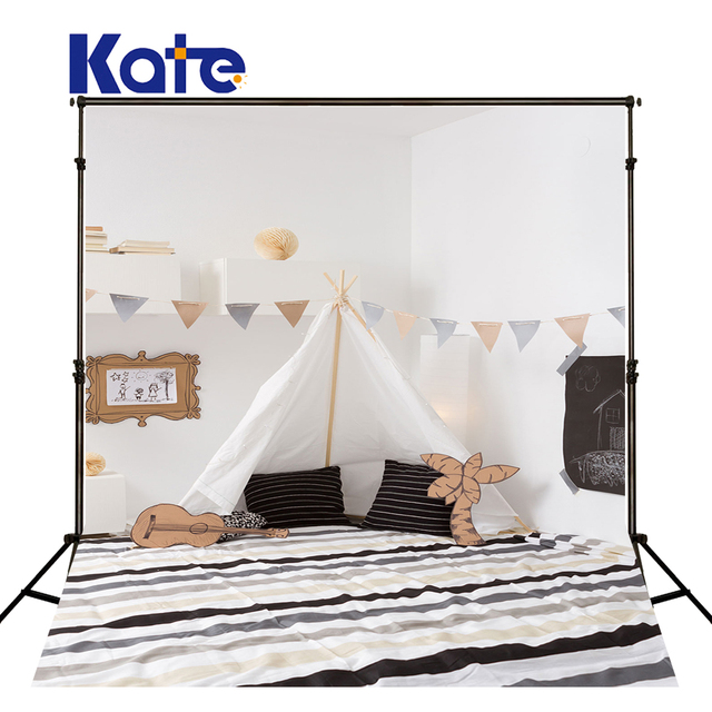 Kate 5x7ft Photography Background Baby Tete De Lit Chambre Photo