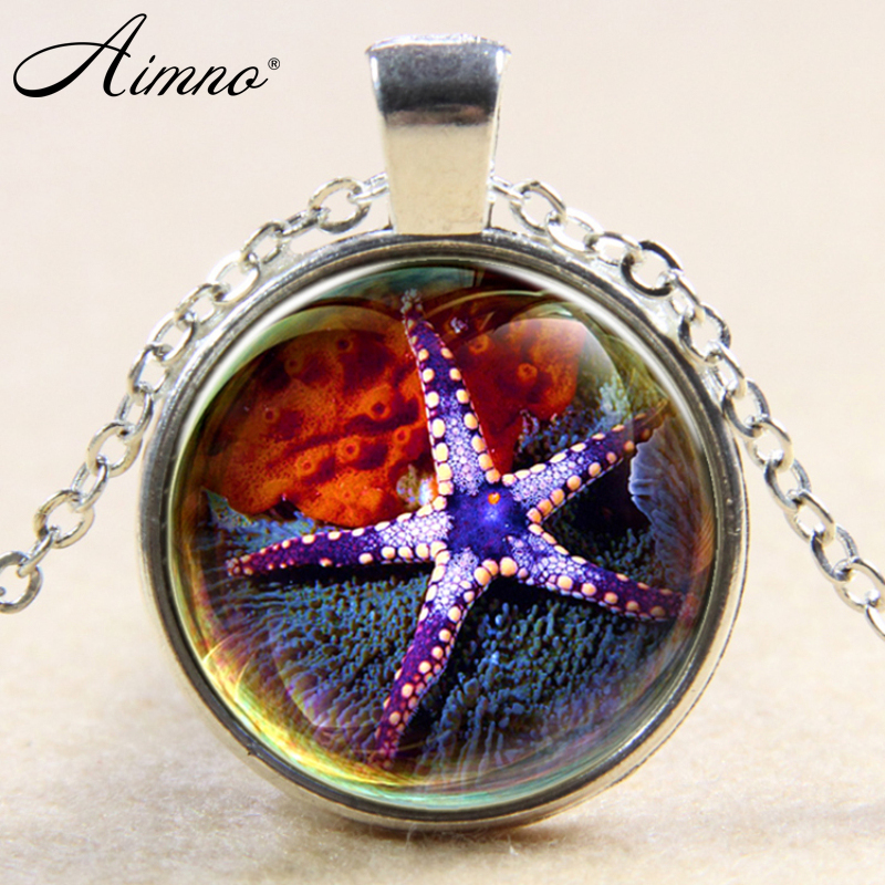 Compare Prices on Glass Starfish Necklace Online ShoppingBuy Low